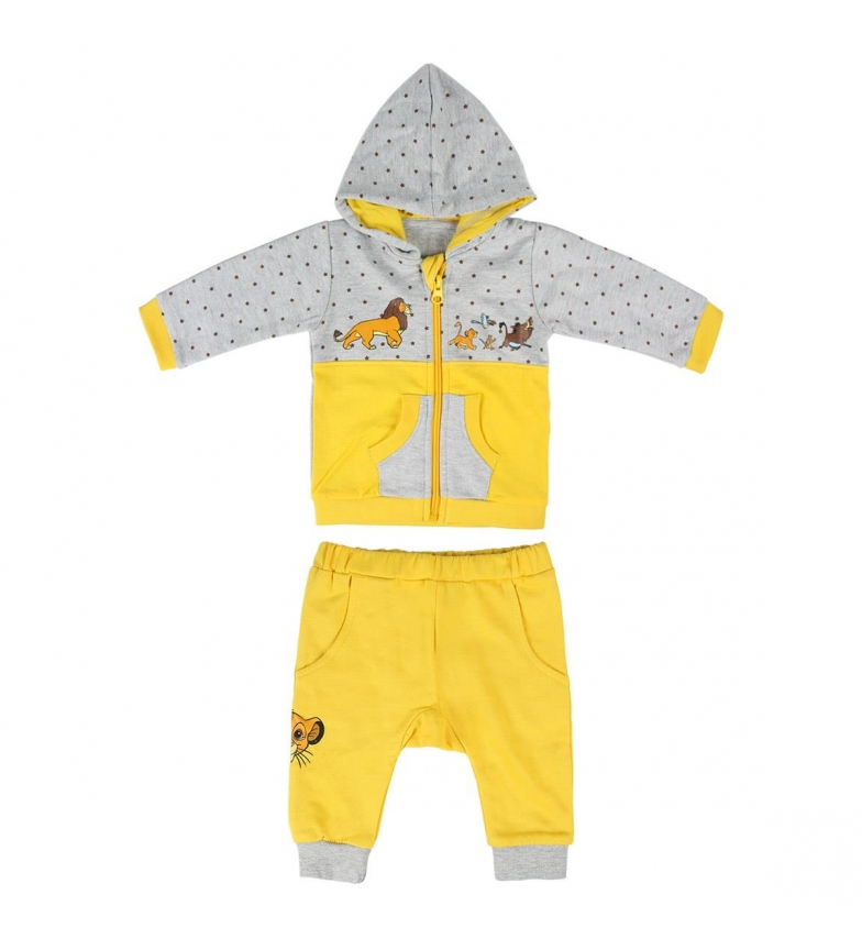 Comprar Disney & Friends Brush Fleece Sweatshirt Lion King grey, yellow