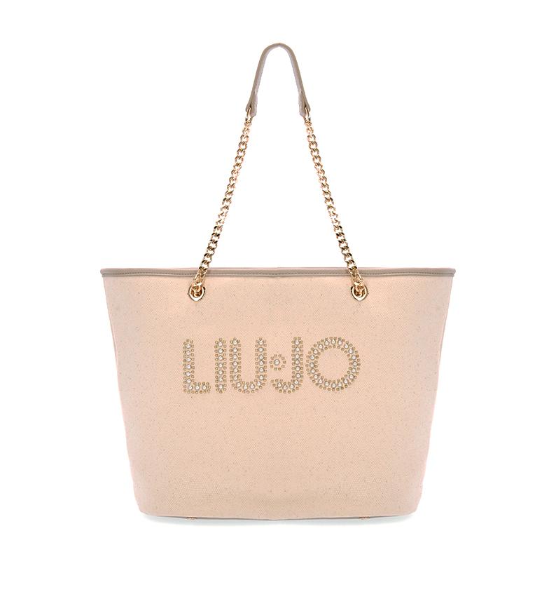 Liu Jo Borsa della spesa AA1326 T5201 beige -29x37,5x6cm-