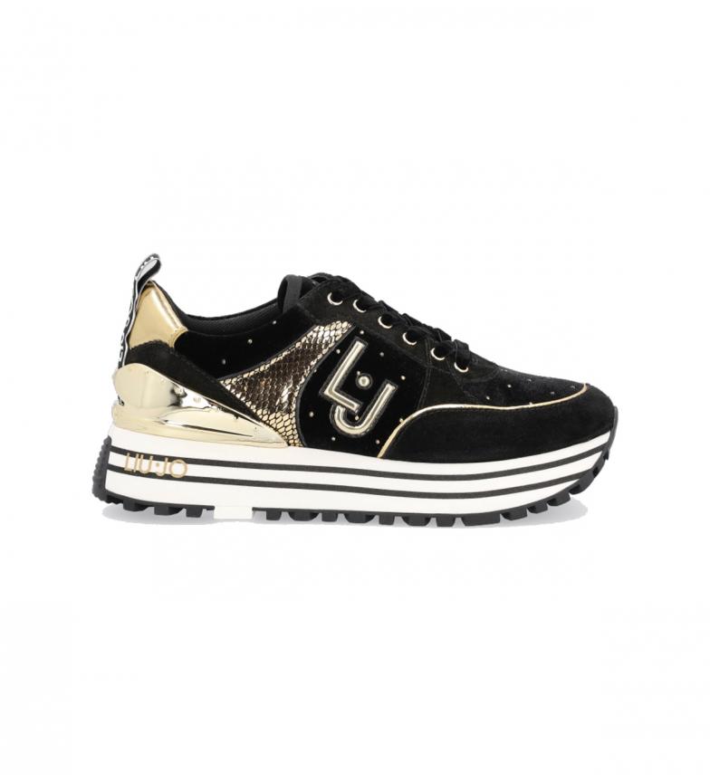 Liu Jo Zapatillas Maxi Wonder 20 negro, dorado