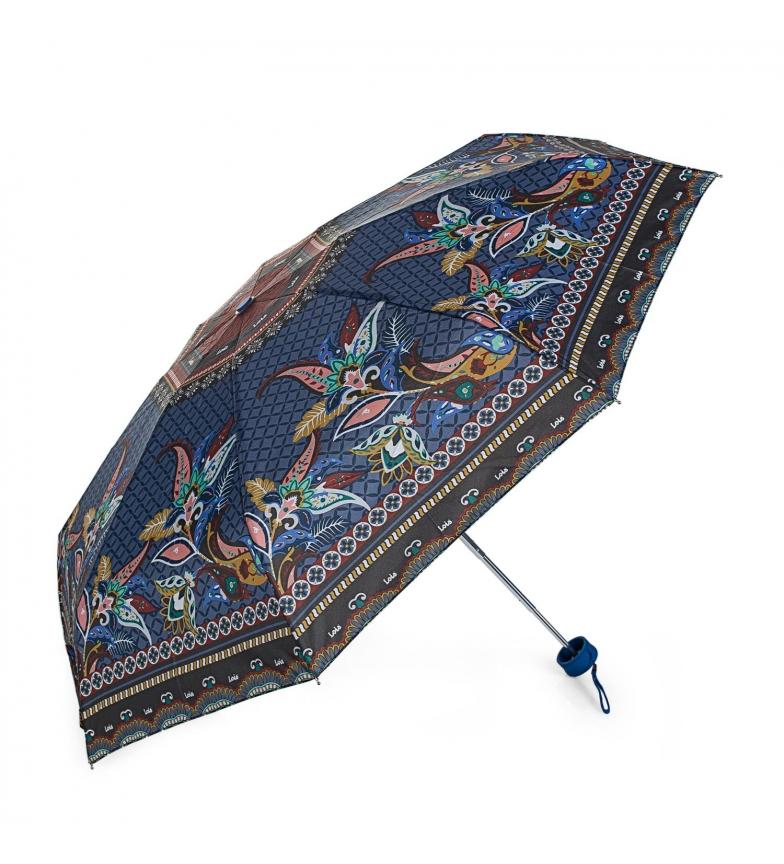 Comprar Lois Paraguas manual de bolsillo azul