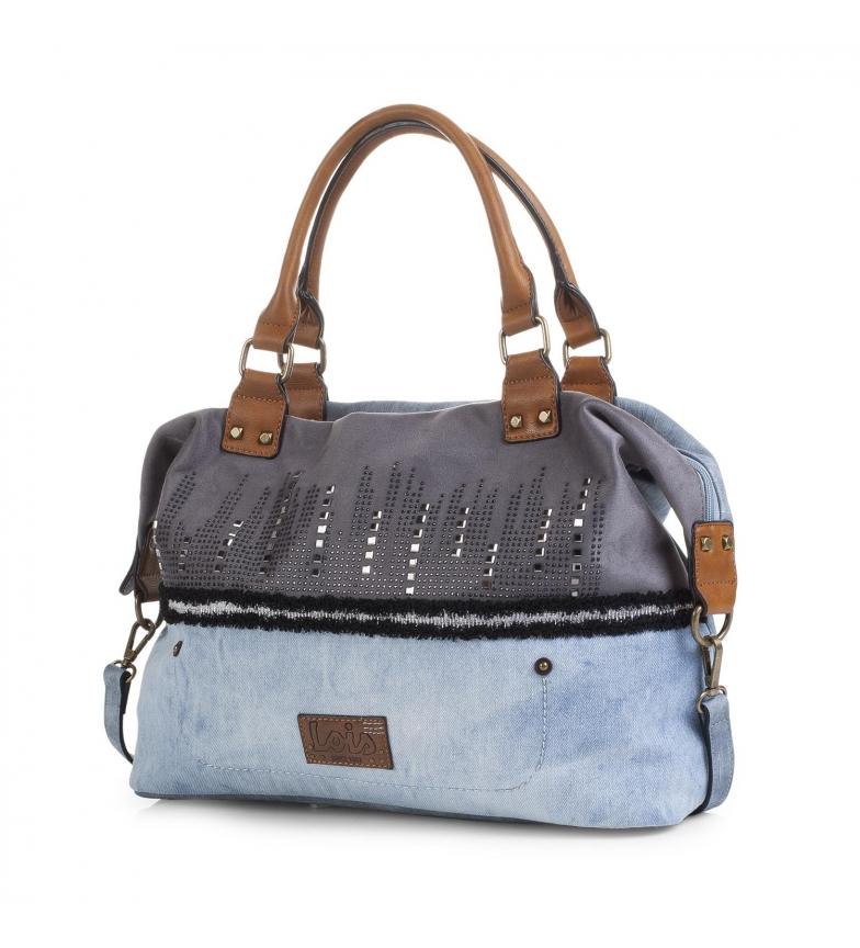 Comprar Lois 92547 SACO COM BANDOLERA cor azul -28x39x13-
