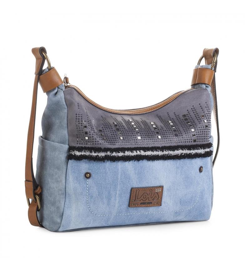 Bolso Bandolera Color 92556 25x33x10 Tu Tienda Azul Comprar Lois jL3qR54Ac
