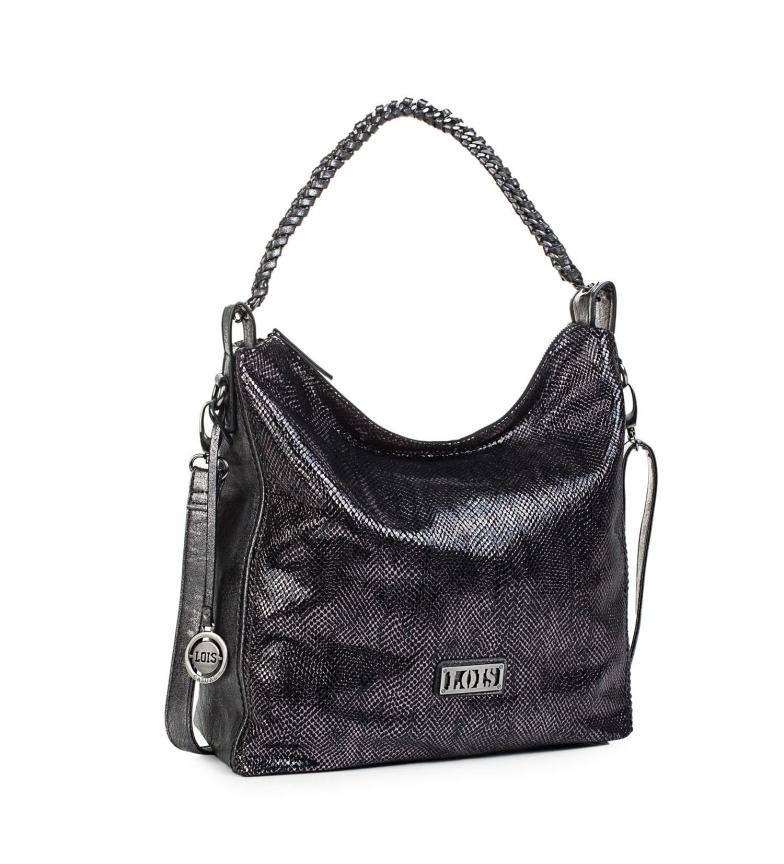 Comprar Lois Saco 94570 cinza metálico -34x33x33x15cm