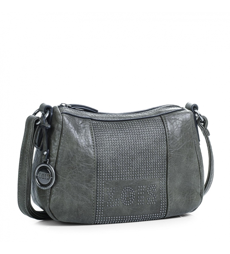 Comprar Lois Shoulder bag 94730 grey -18x25x9,5cm
