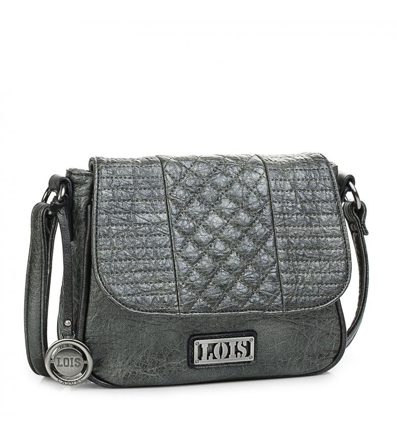 Comprar Lois Sac à main 94885 gris métallisé -19x23x8cm