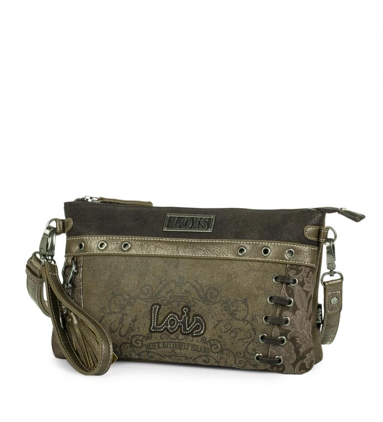 Comprar Lois Shoulder bag 95189 brown, gold -17x29x7cm
