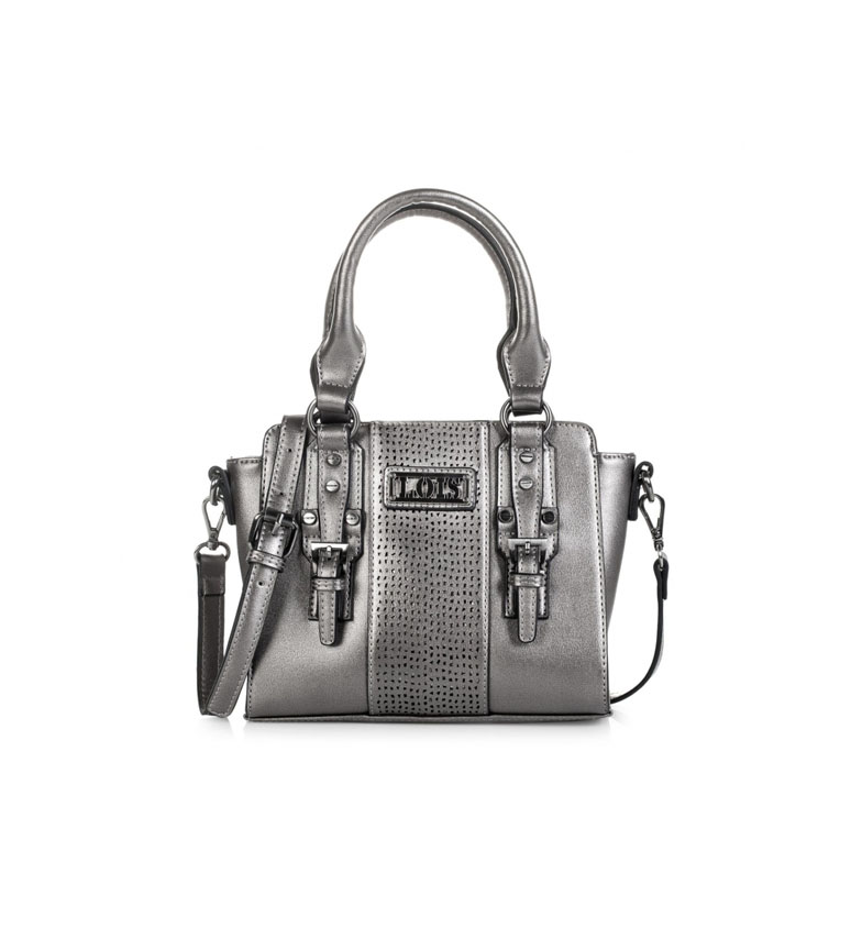 Comprar Lois 95831 BAG WITH BANDOLERA color metal -19,5x24x11,5cm-