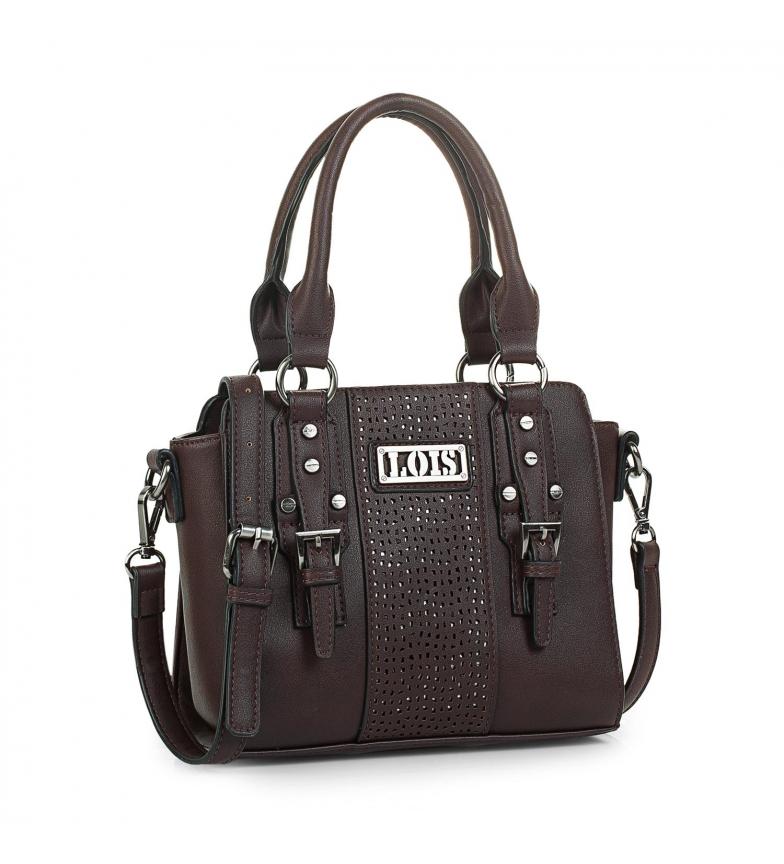 Comprar Lois 95831 BAG WITH BANDOLERA color brown -19,5x24x11,5cm-