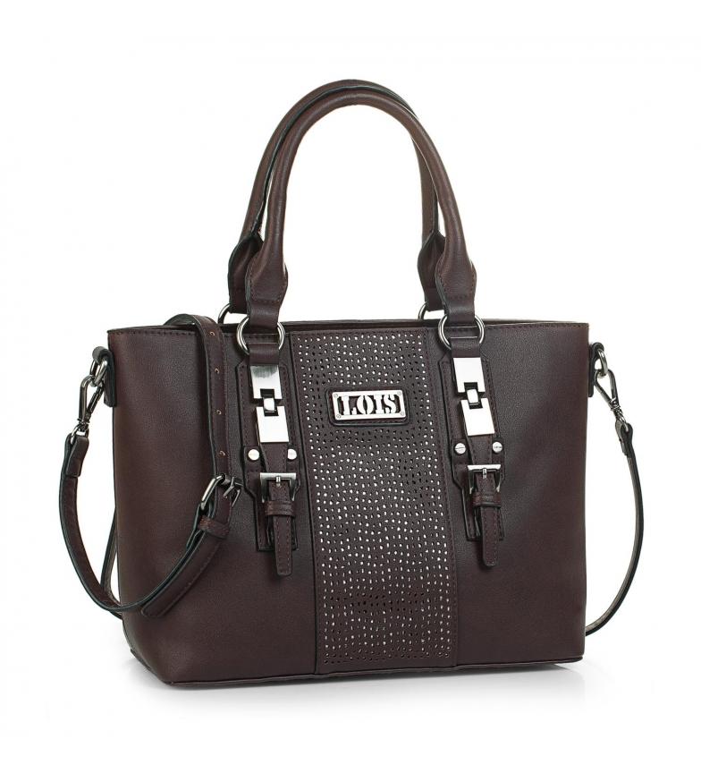 Comprar Lois 95881 BOLSO CON BANDOLERA color marrón -25x36x15,5cm-