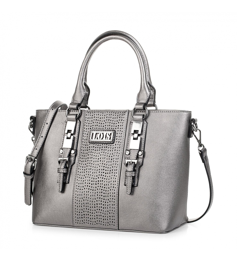 Comprar Lois 95881 BAG WITH BANDOLERA color metal -25x36x15,5cm-