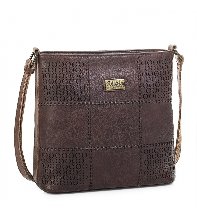 Comprar Lois Handbag 96244 brown -24x26x8,5cm