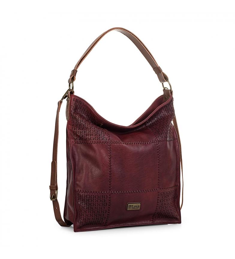 Comprar Lois Bag with shoulder strap 96270 garnet -36x34x9cm