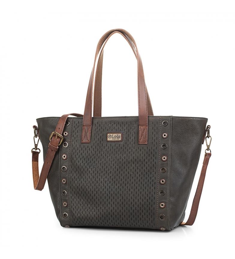 Comprar Lois Shoulder bag 96381 olive -27x45x15cm