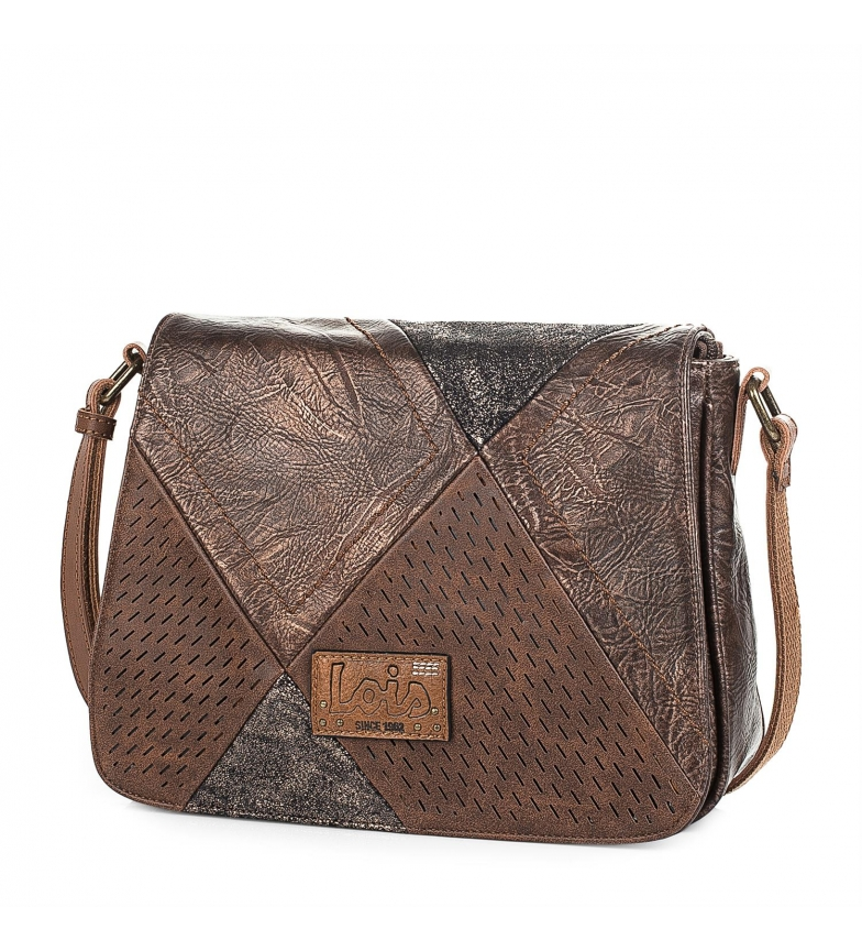 Comprar Lois 96415 BANDAGERO saco cor marrom -21x27x8,5cm-