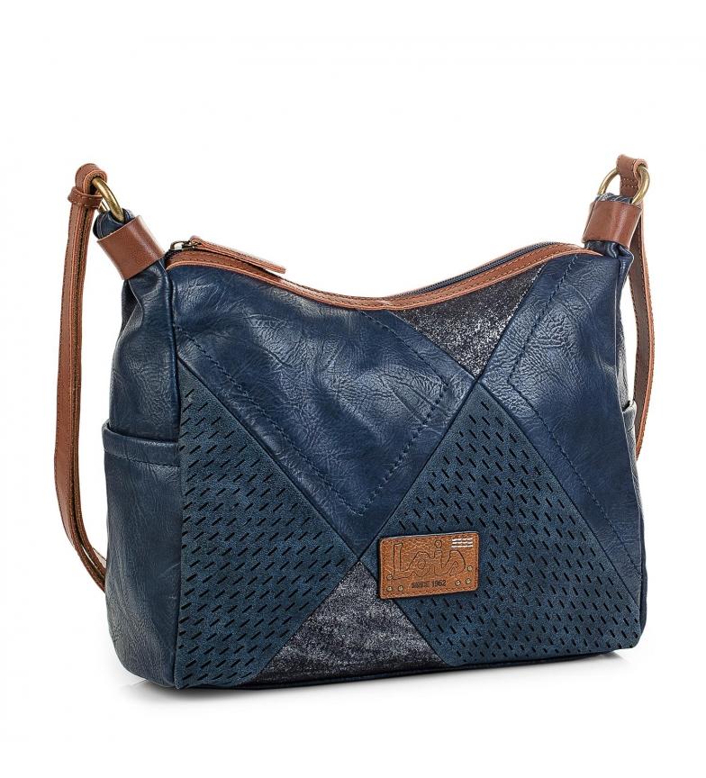Comprar Lois Bolso Bandolera Fansa color azul -33x25x10cm-