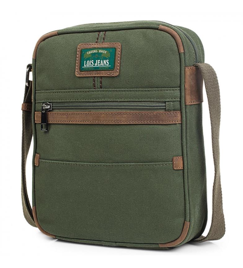 Comprar Lois Borsa a tracolla 303326 verde scuro -21x26x6cm-