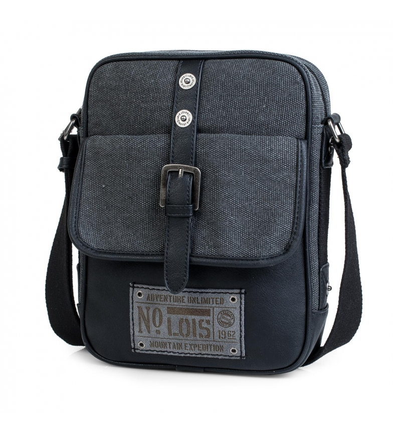 Comprar Lois Man shoulder bag for iPad Lois Oklahoma black color -27x20x6-