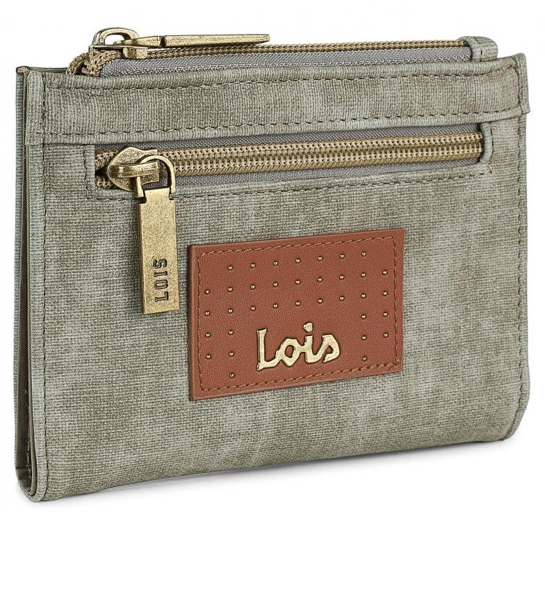 Comprar Lois Billetera con Tarjetero y Monedero 306221 -14x10x2cm- taupe