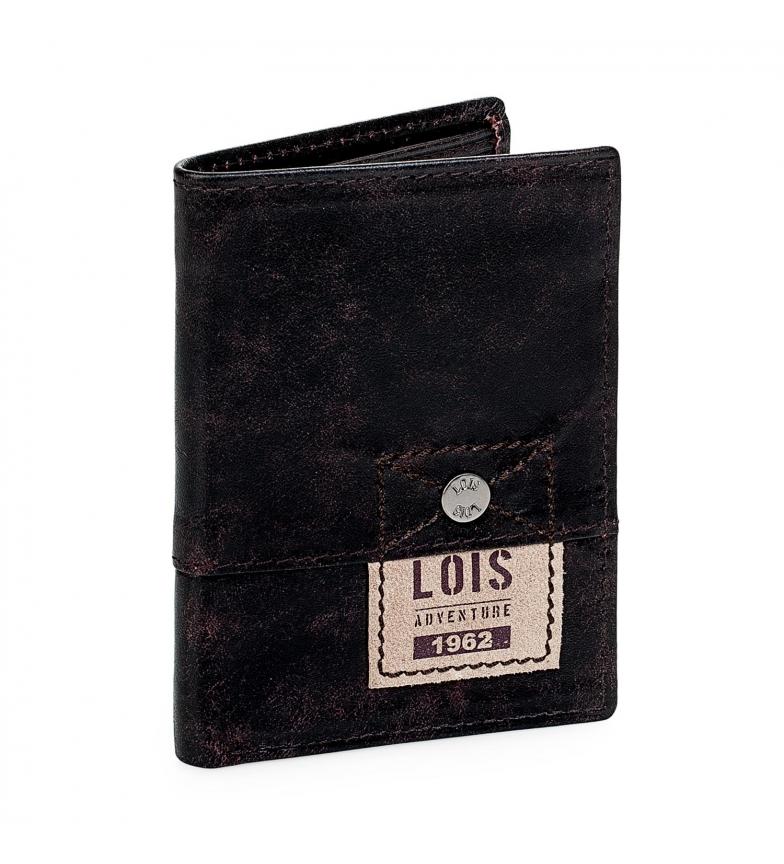 Comprar Lois Portefeuille en cuir 12518 marron -8x11cm