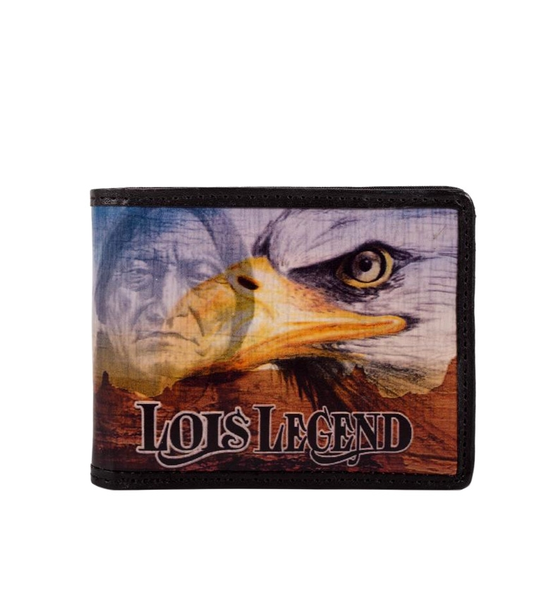Comprar Lois -10,5x8,5cm- indien noir billfold