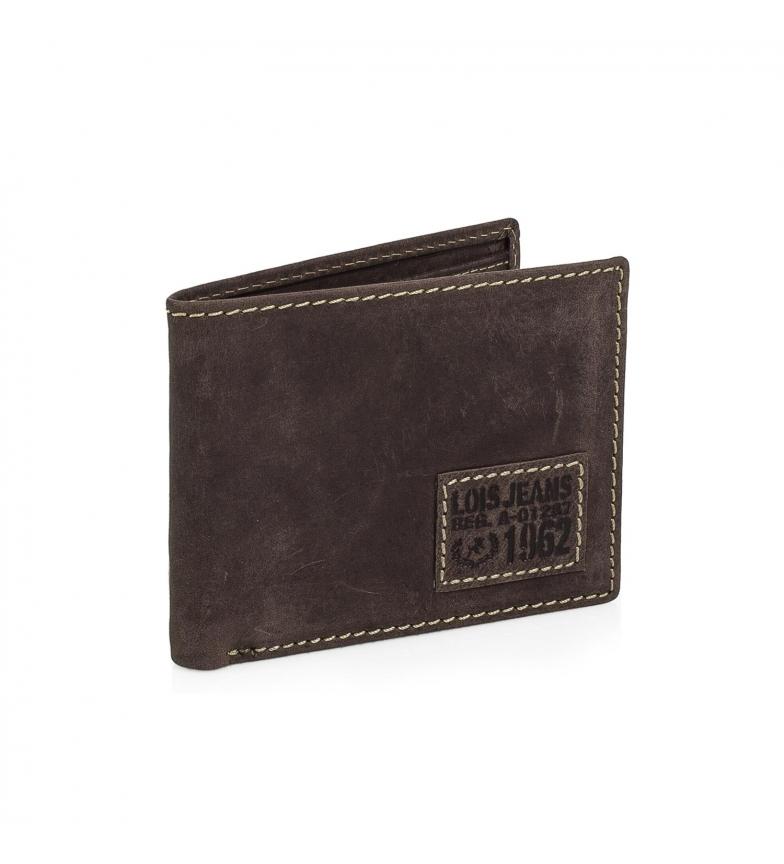 Comprar Lois Leather wallet Lois Georgia brown -9x11,5x2-