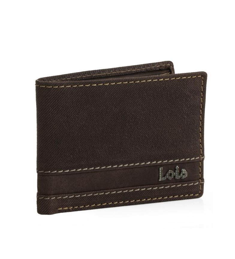 Comprar Lois Leather wallet Lois Illinois brown -8,5x11x2-
