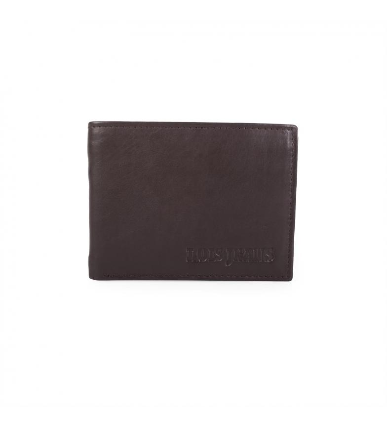 Comprar Lois Billetero de piel Lois Jeans color marrón -8,5x11x2-