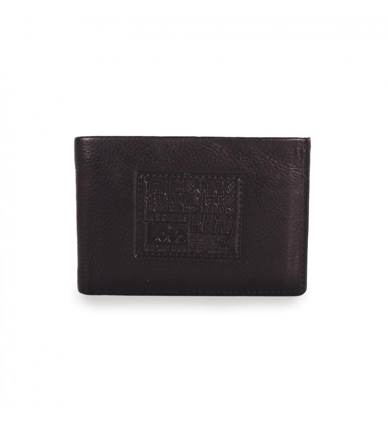 Comprar Lois Billetero de piel Lois Stamp color negro -7,5x11x2-