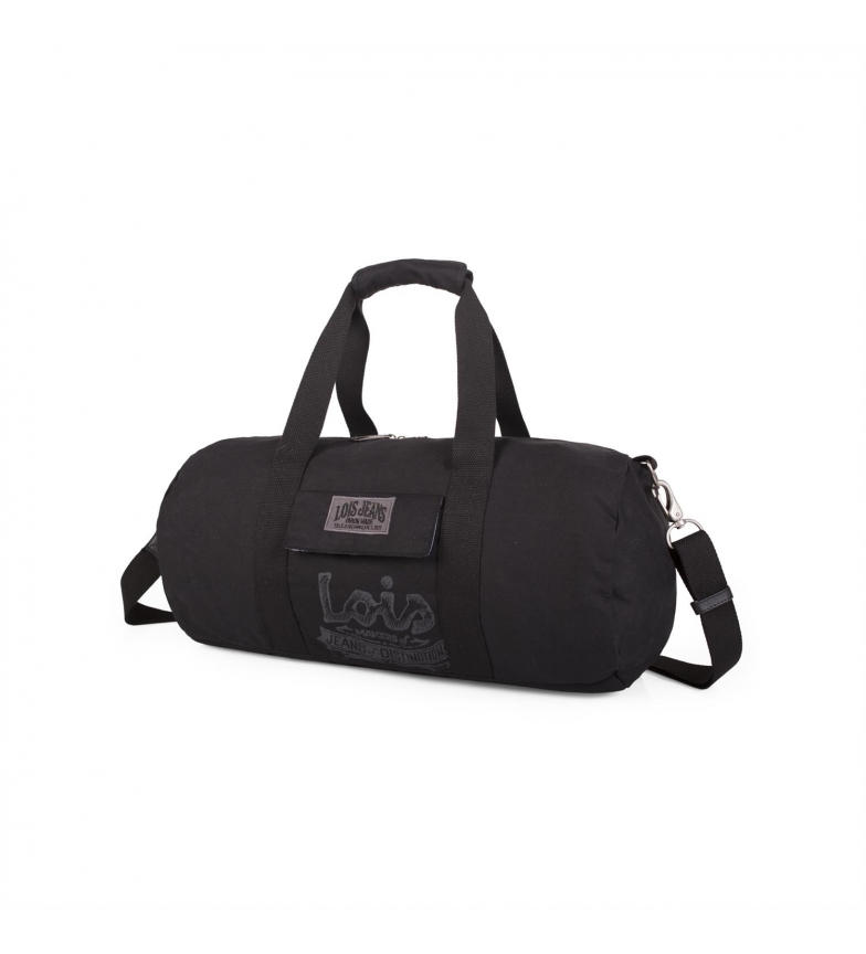 Comprar Lois Bolsa Lois Oiled Canvas color negro -24x48x24-