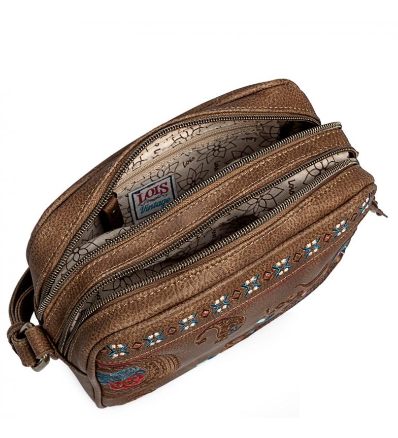 Comprar Lois Petit sac à bandoulière 302683 marron -14x20x8cm