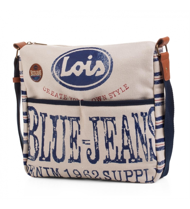 Comprar Lois Lois Hawaii borsa a tracolla colore unico -29x32x32x7-