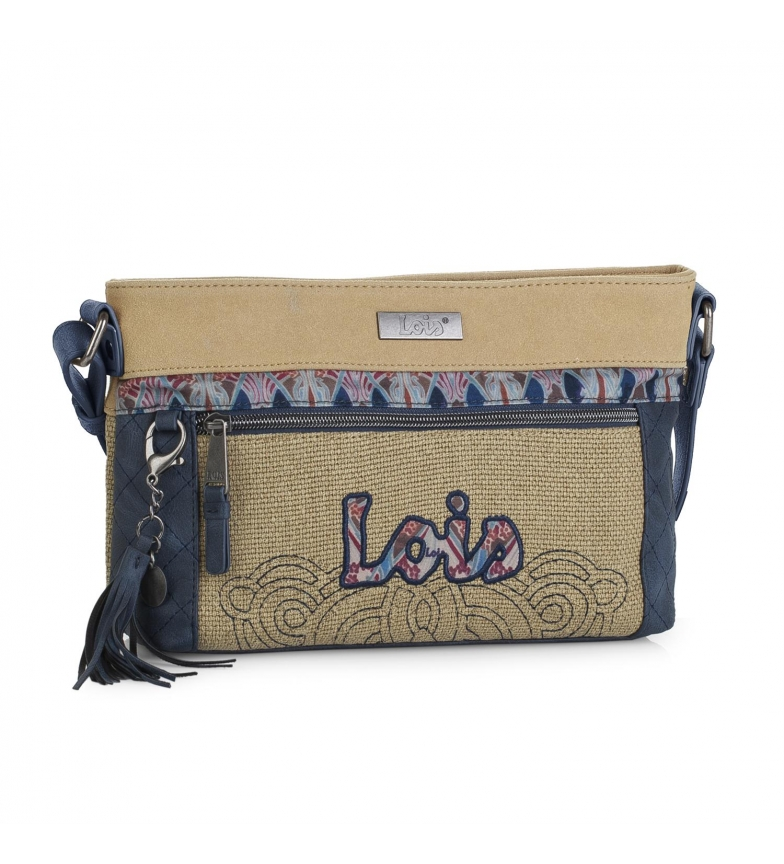 Comprar Lois Lois Juneau shoulder bag beige color -18x27x7-