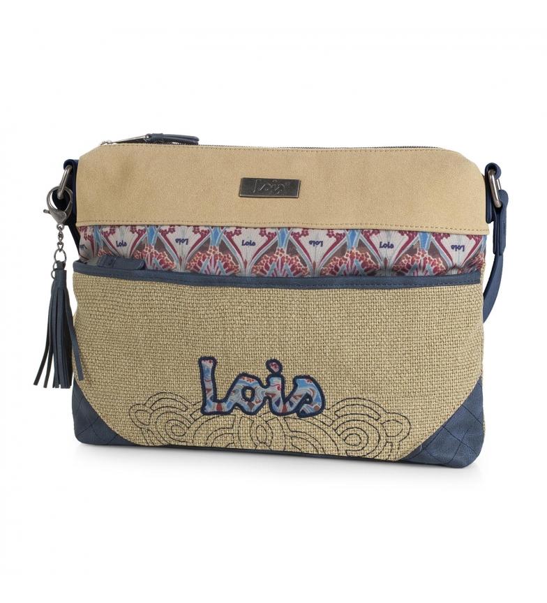 Comprar Lois Lois Juneau shoulder bag beige color -23x30x4-