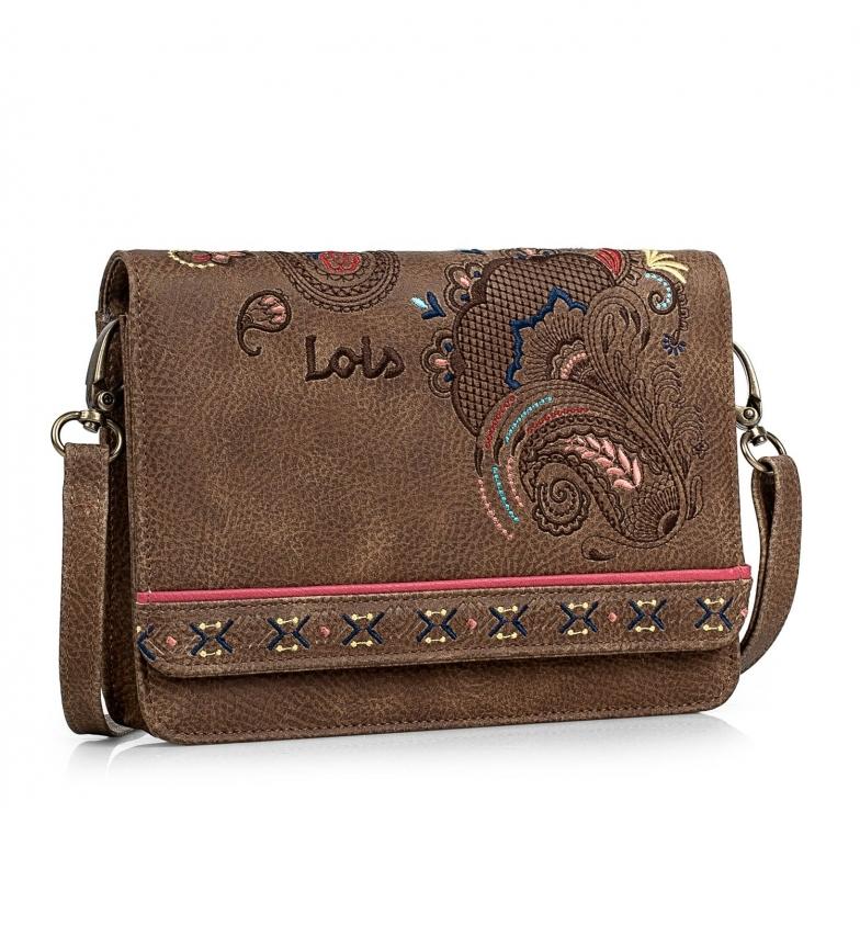 Comprar Lois Borsa a tracolla piccola 302635 marrone -13x19x4cm