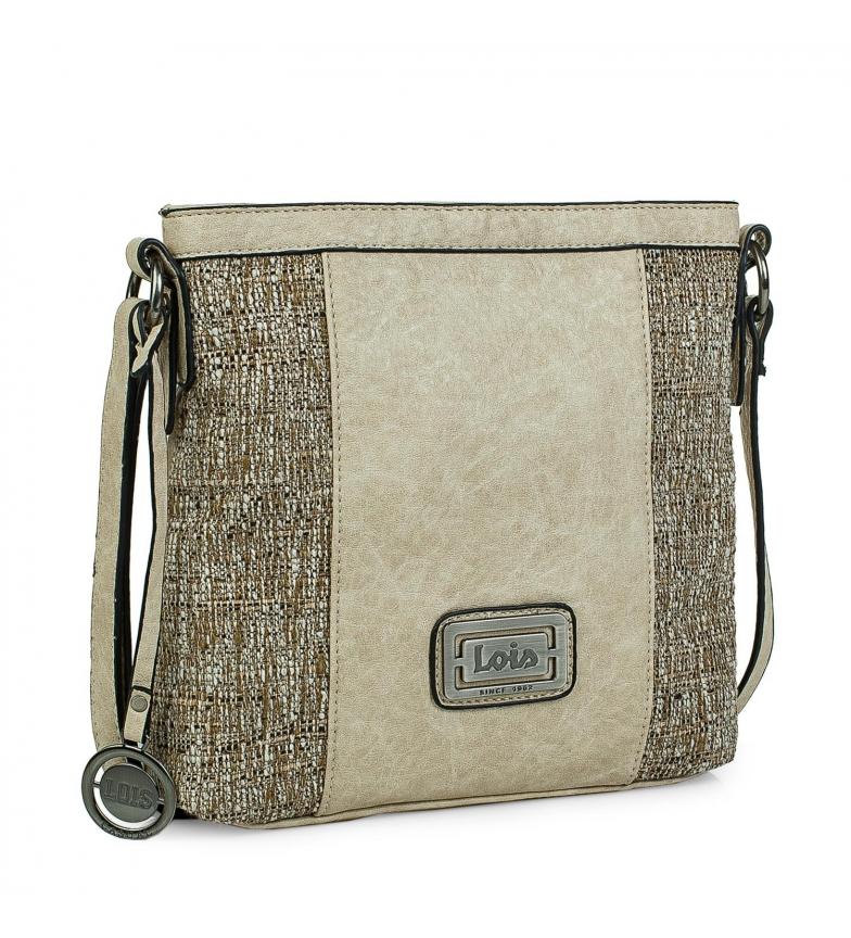 Comprar Lois Small shoulder bag 302344 taupe -24x26x6,5cm
