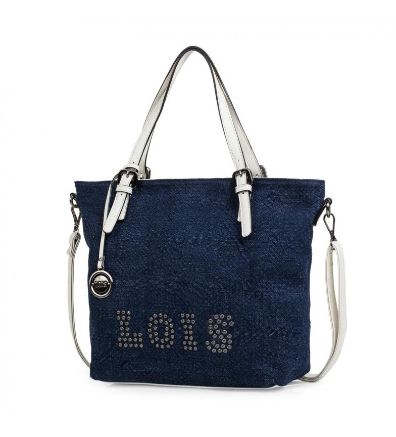 Comprar Lois Saco de compras 301081 marinho -39x28x14cm
