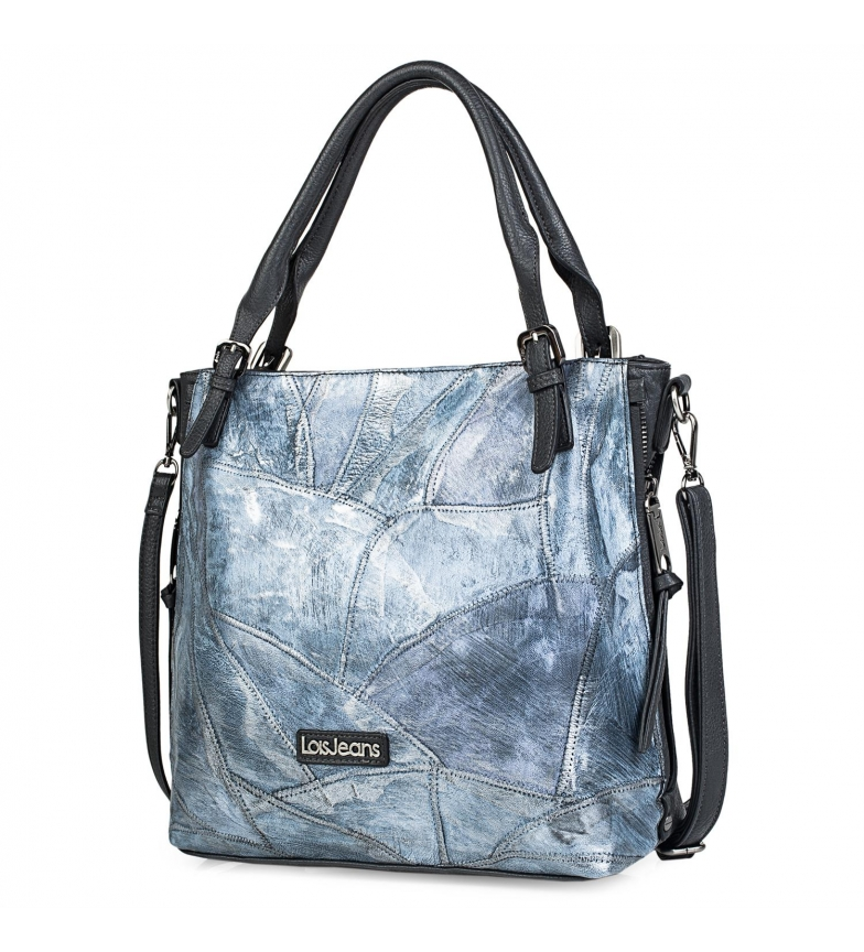 Comprar Lois Bolso Tipo Shopping 304181 azul -31x38x12,5cm-
