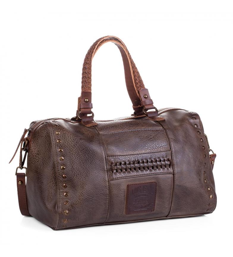 Comprar Lois Bolso tipo bowling Lois Des Moines color marrón oscuro -23x35x22-
