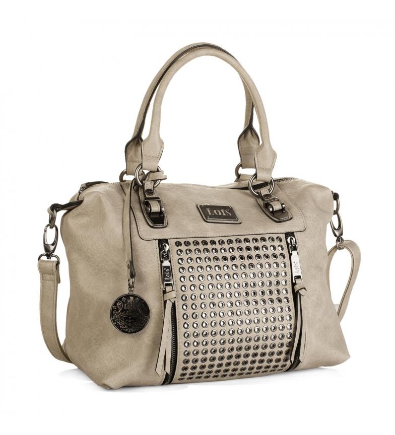 Comprar Lois Lois Dover bowling bag beige color -25x35x16-