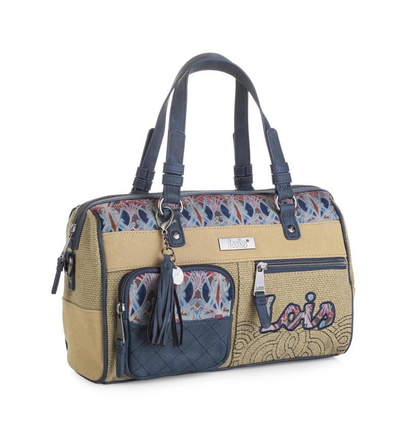 Comprar Lois Lois Juneau bowling bag beige color -20x30x12-