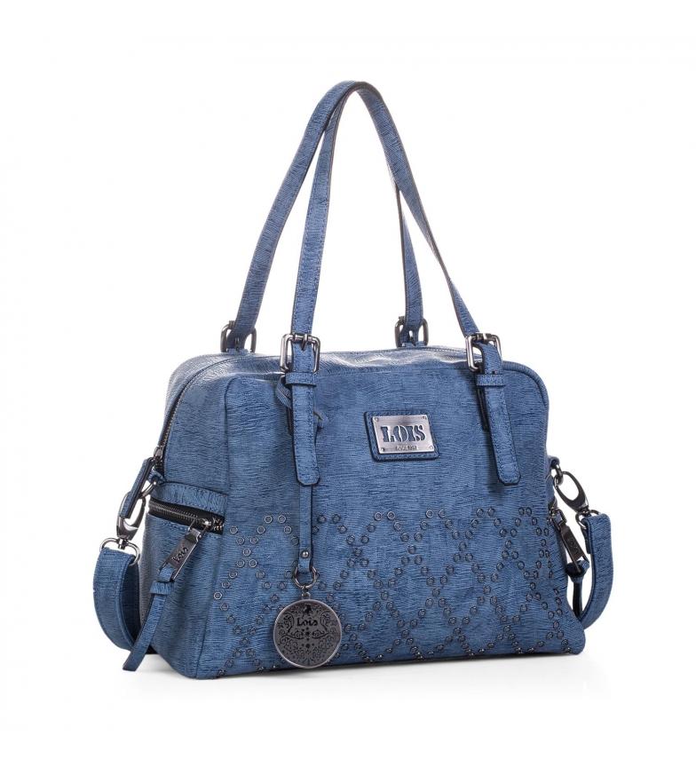 Comprar Lois Bowling bag Lois Lincoln blue color -24,5x31x8-