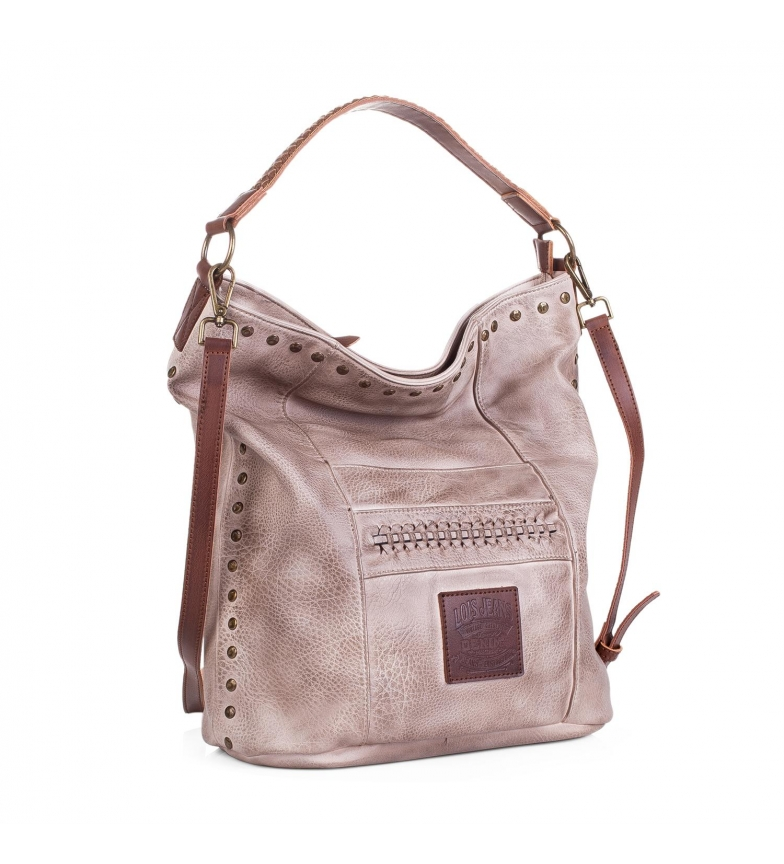 Comprar Lois Hobo bag Lois Des moines beige -37x37x17-