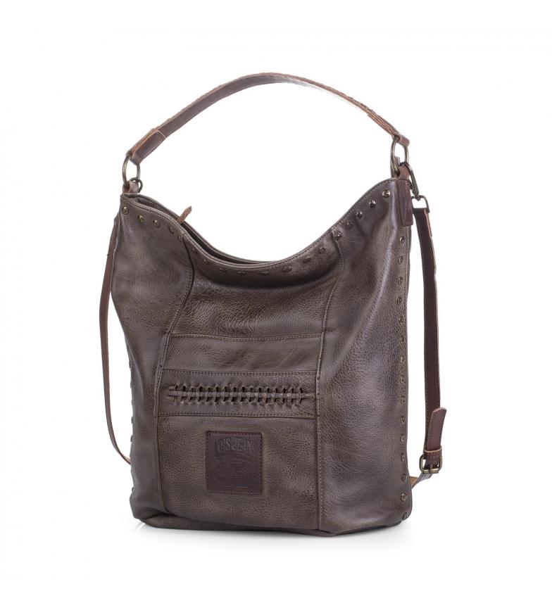 Comprar Lois Lois Des moines hobo bag colore marrone scuro -37x37x37x17-