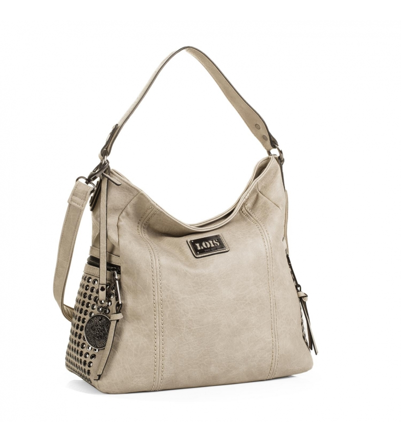 Comprar Lois Hobo bag Lois Dover beige color -34x34x15-