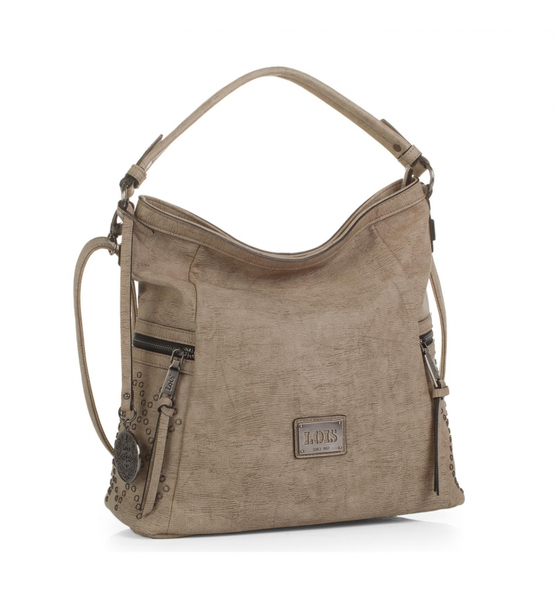 Comprar Lois Hobo bag Lois Lincoln sand color -33x35x16-