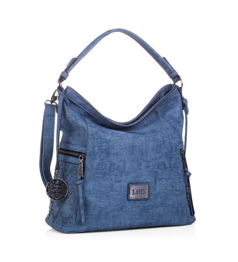 Comprar Lois Hobo bag Lois Lincoln colore blu -33x35x35x16-