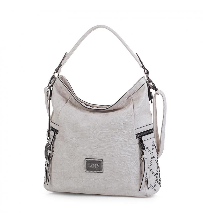 Comprar  Lois Lincoln hobo bag broken white -33x35x16-