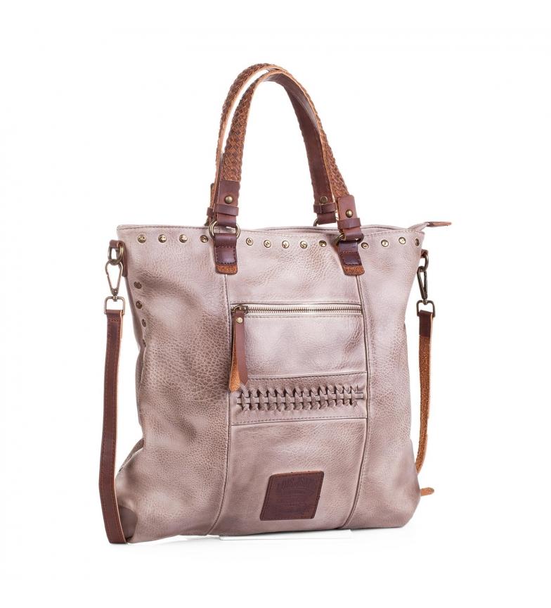 Comprar Lois Lois Des Moines shopping bag beige color -37x37x2-
