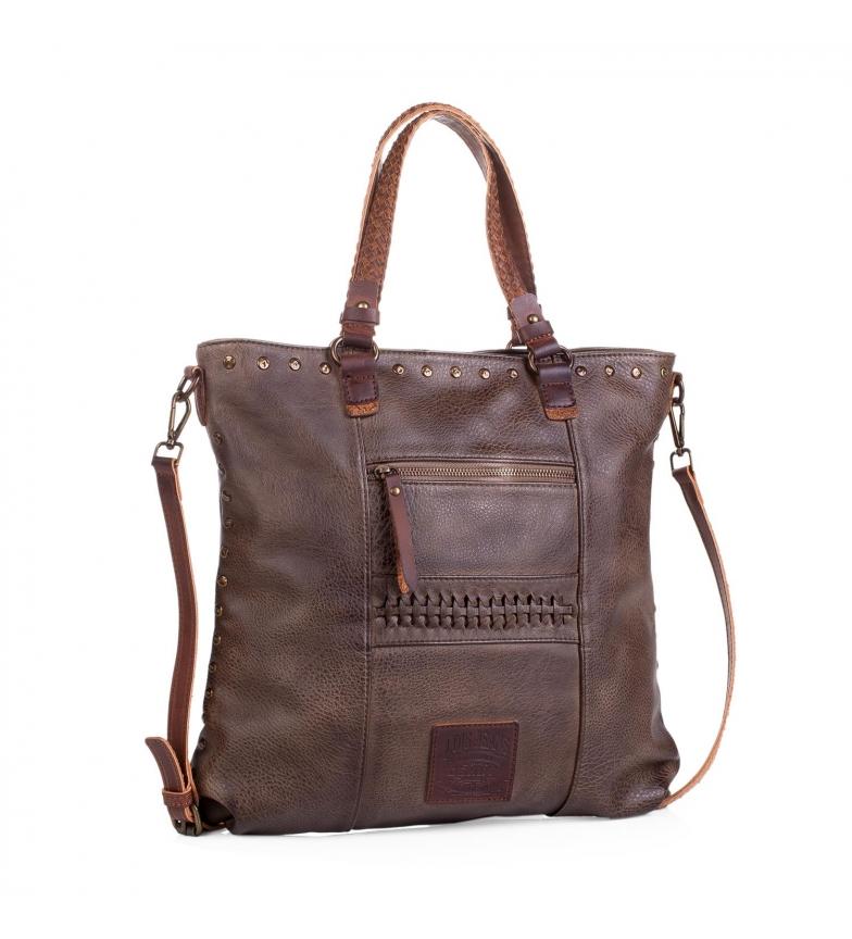 Comprar Lois Lois Des Moines sac à provisions couleur brun foncé -37x37x2x2-