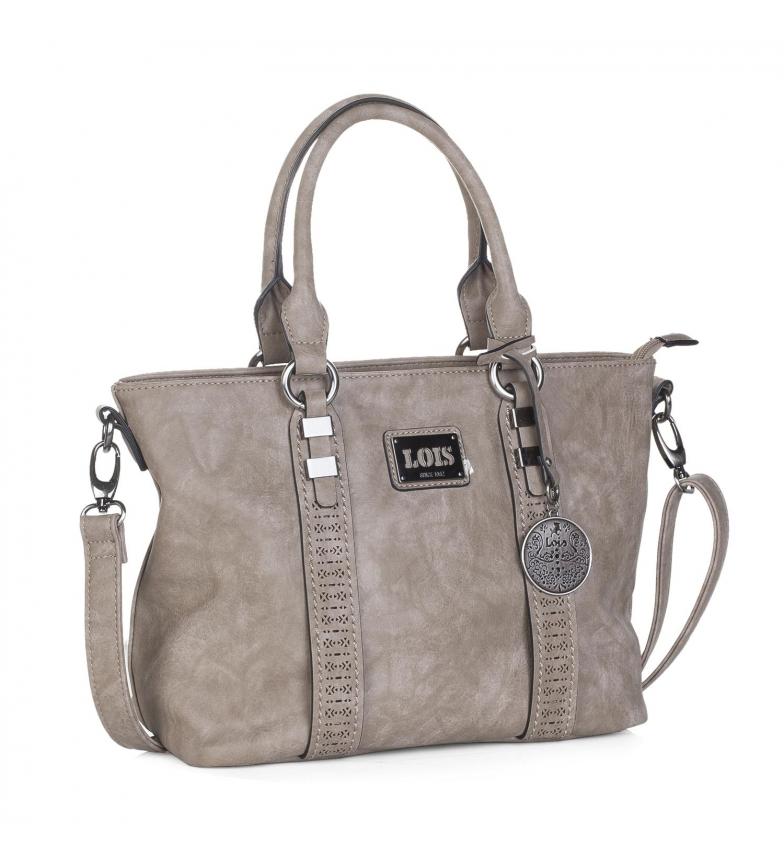 Comprar Lois Bolso tipo shopping Lois Harrisburg color beige -25x37x16-